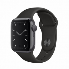 Apple Watch S5 40mm Space Gray Aluminum / Black Sport Band