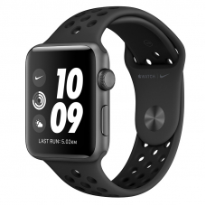 Apple Watch S3 NIKE 42mm Space Gray / Black Anthracite Sport Band
