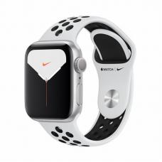 Apple Watch S5 NIKE 40mm Silver Aluminum / Pure Platinum Sport Band